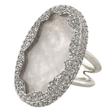 House of Harlow 1960 Jewelry Tanga Coast Cocktail Ring