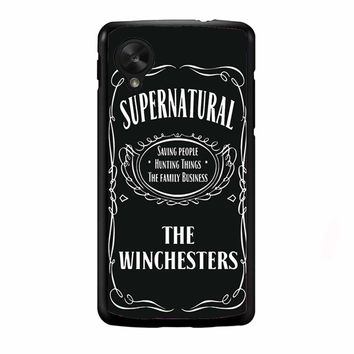 Supernatural the winchester FOR NEXUS 5 CASE *NP*