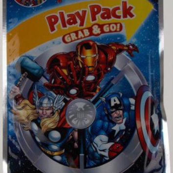 Lot 8 Marvel Avengers Play Pack Grab & Go Coloring Book Crayons Stickers Favor