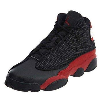 DCK7YE Jordan Boys Preschool Retro 13 Basketball Shoes Black