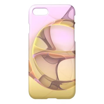 Abstract Motions Modern Fractal Art iPhone 7 Case