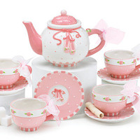 Ballet Shoes Tea Set