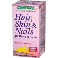 Nature's Bounty Hair, Skin and Nails, Tablets