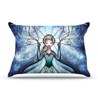 "Mandie Manzano ""The Snow Queen"" Frozen Pillow Sham"