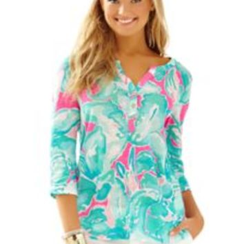 Mindy Linen Tunic - Lilly Pulitzer