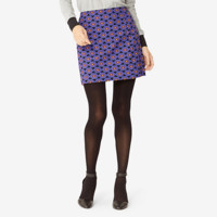 Kate Spade Saturday Vented Mini Skirt In Jazzy Gems