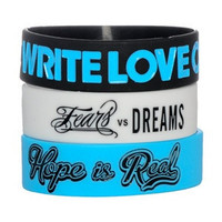To Write Love on Her Arms Official Online Store - Bracelet 3-Pack