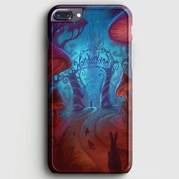 Alice In Wonderland Logo iPhone 8 Plus Case