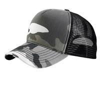 Everyday Camo Trucker Hat- GREY Camo