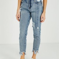 high rise relaxed 90s jean