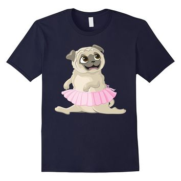 Ballet With your Pug Dog T-shirt