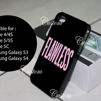 flawless beyonce iphone, ipod and samsung galaxy cases