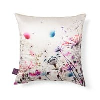 BohèmeWhite Silk Pillow