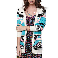 Nollie Slouchy Button Front Cardigan at PacSun.com