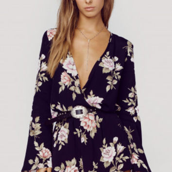 THE NEW BOHO SLEEVE ROMPER