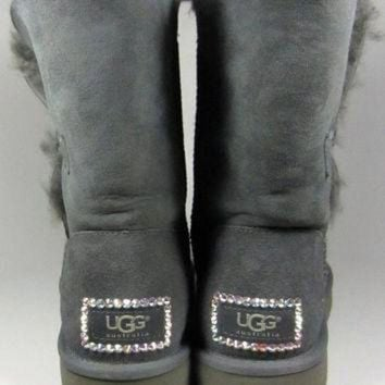 DCCK8X2 UGG Boots With Luxe Swarovski Crystal Elegant Accents - Winter/Holiday 2013
