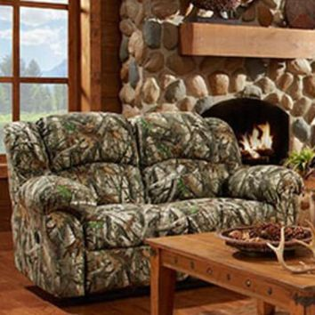 1000  Next Camouflage Double Reclining Loveseat