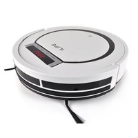 Pure Clean Robot Vacuum Cleaner with Automatic Docking and Scheduled Activation, HEPA Filter Pet and Allergy Friendly