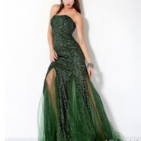 Beaded Unique Prom Dress, Style 173326