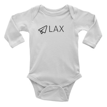 Infant long sleeve one-piece LAX