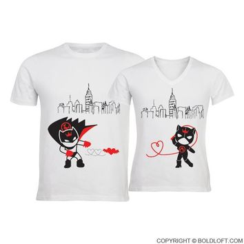 We're Irresistibly Attracted™ His & Hers Matching Couple Shirt Set