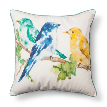 Threshold™ Birds Decorative Pillow