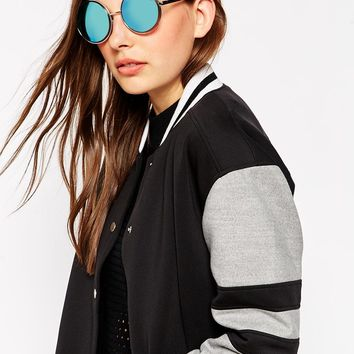 Quay Australia Chelsea Girl Round Sunglasses at asos.com