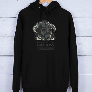 Dragons Premium Fleece Hoodie for Men and Women Unisex Adults