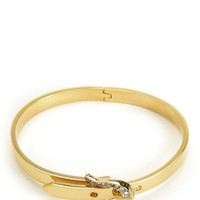 Pave Buckle Skinny Bangle by Juicy Couture