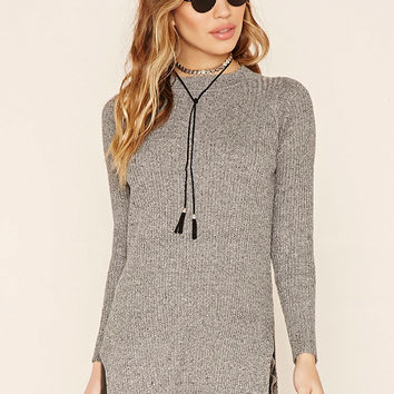 Marled Sweater Top