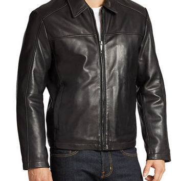 Andrew Marc Shane Leather Jacket