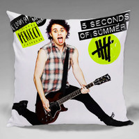 Michael clifford - Square and Regtagular Pillow Case One Side/Two Side.