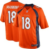 Nike Peyton Manning Denver Broncos Limited Jersey - Orange