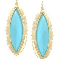 Joelle Drop Earrings in Turquoise - Kendra Scott Jewelry