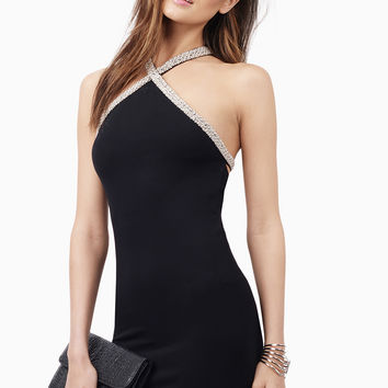 Embellished Truth Bodycon Dress