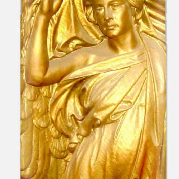Golden Angel iPhone 6 Case | iPhone 6 case Gold Angel | Antique Gold Case Samsung Galaxy |