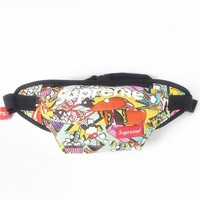 Men's and Women's Supreme Chest Pockets Oxford Casual Riding Bag 007