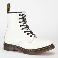 Dr. Martens 1460 Womens Boots White  In Sizes
