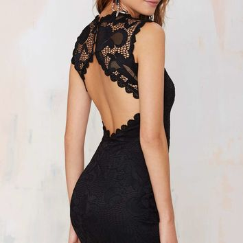 Nasty Gal Mandolay Lace Dress