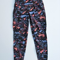 Sweaty Betty 7/8 80's Print Power Leggings XS