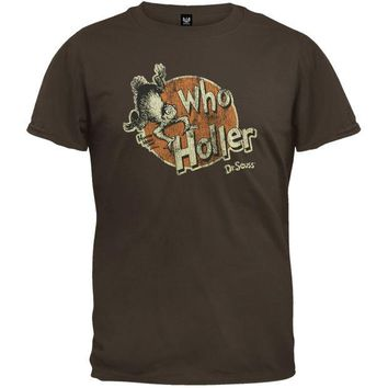 ONETOW Dr. Seuss - Who Holler T-Shirt