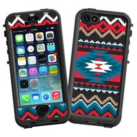 "Folk Tribal ""Protective Decal Skin"" for LifeProof nuud iPhone 5s Case"