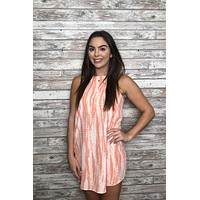 Here With Me Dress- Coral
