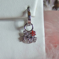 Hello Kitty Changeable Earring Charm