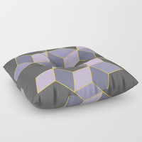 Off Color Floor Pillow by DuckyB
