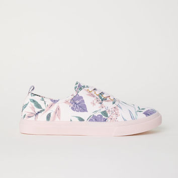 Trainers - Light pink/Botanical - Ladies | H&M GB