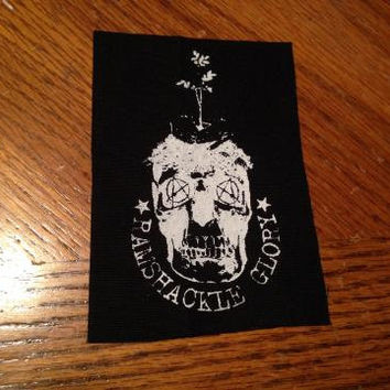 Ramshackle Glory Skull Punk Patch