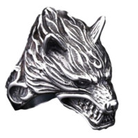 Game of Thrones House Stark Dire Wolf Ring