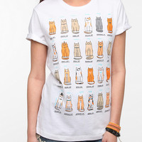 Urban Outfitters - Gemma Correll Cats Of The World Tee