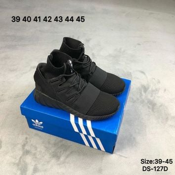 Adidas Original TUBULAR DOOM PK Men Women Fashion Casual Shoes Black/Beige 2 Colors